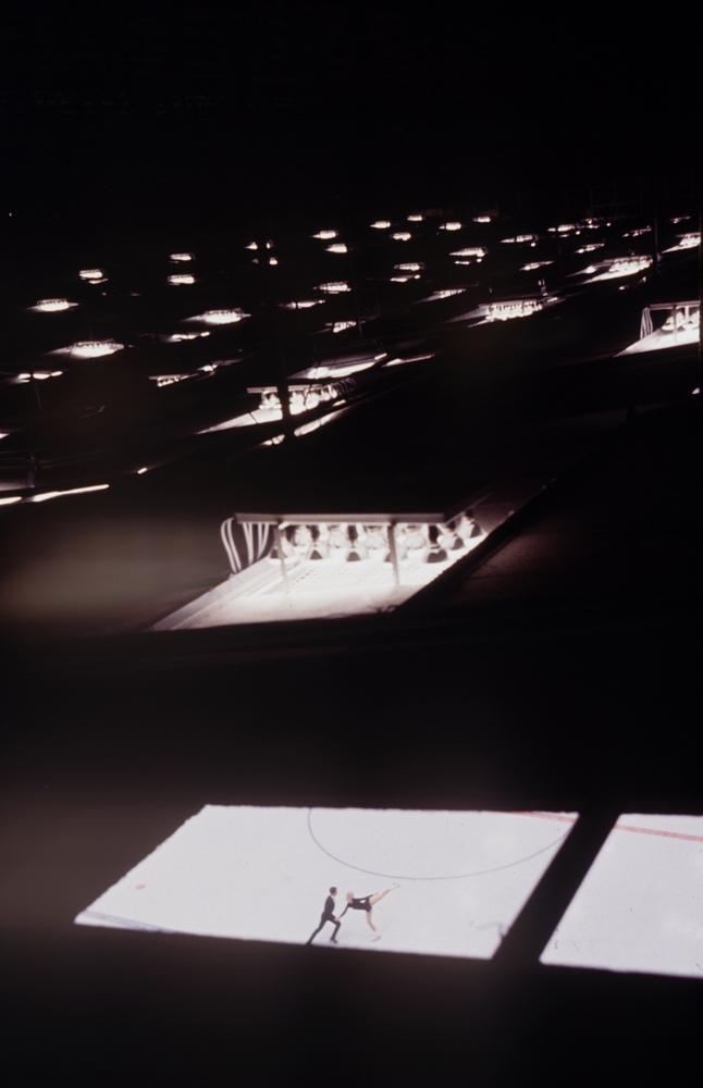 Scene from the 1964 Innsbruck Winter Olympics.