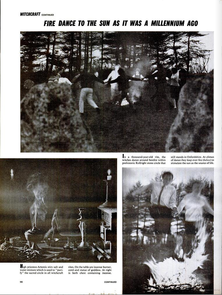 LIFE magazine, November 13, 1964; 'Real Witches at Work.'