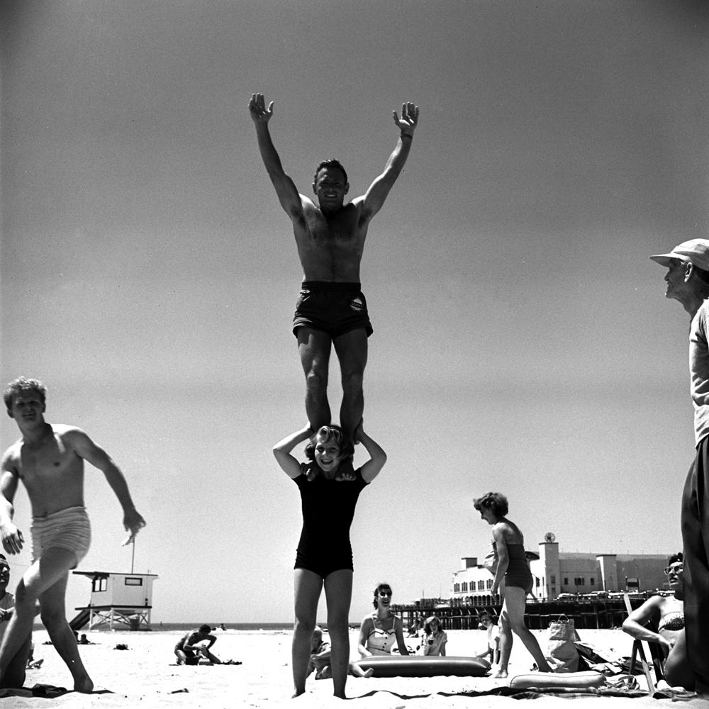 April Atkins Muscle Beach Girl