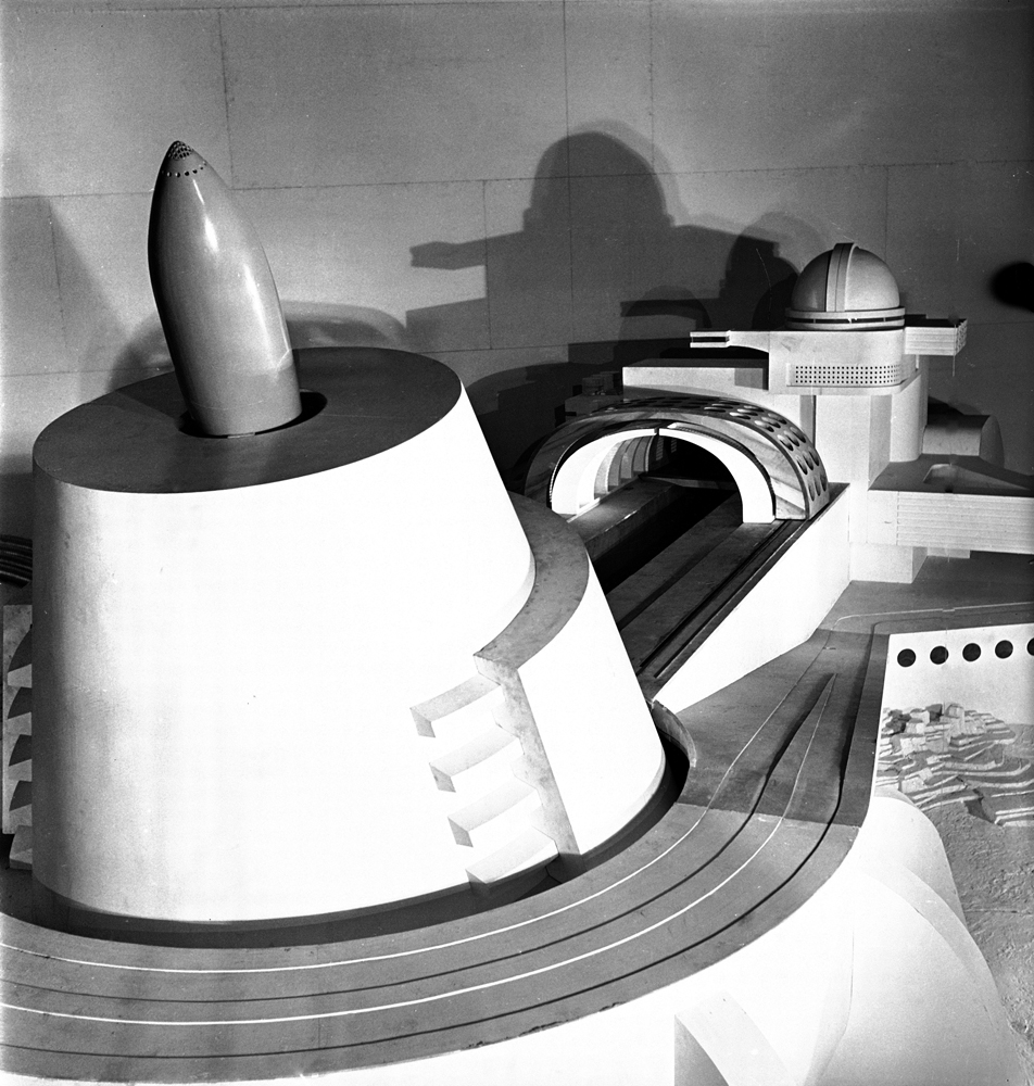 Architectural model created for the 1939 New York World's Fair.