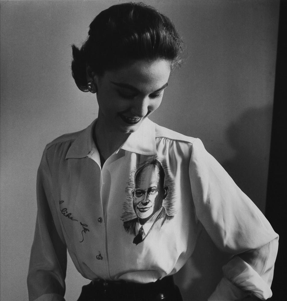 Political fashion, 1952.