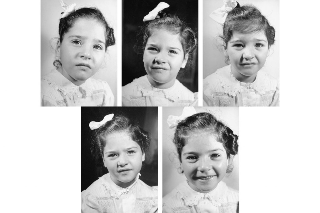 (Clockwise from top left) Marie, Emilie, Yvonne, Cecile, Annette Dionne, 1940.