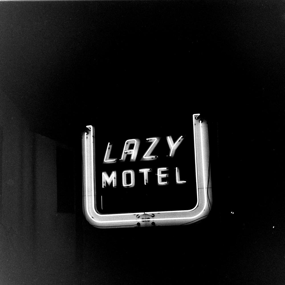 Motel along Route 30, USA, 1948.