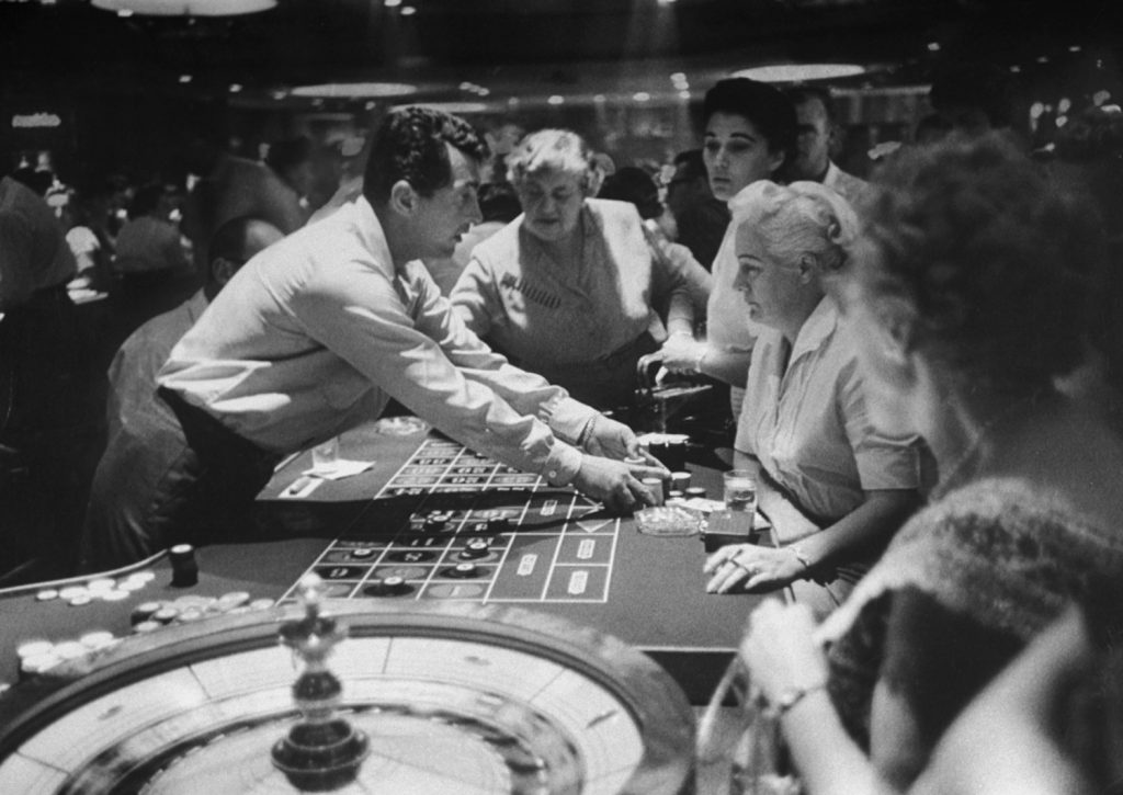 Dean Martin, Las Vegas, 1958