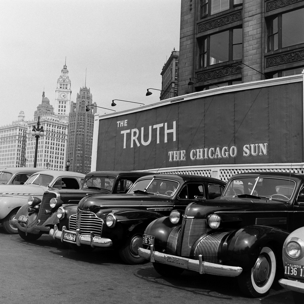 Chicago Sun, 1943.