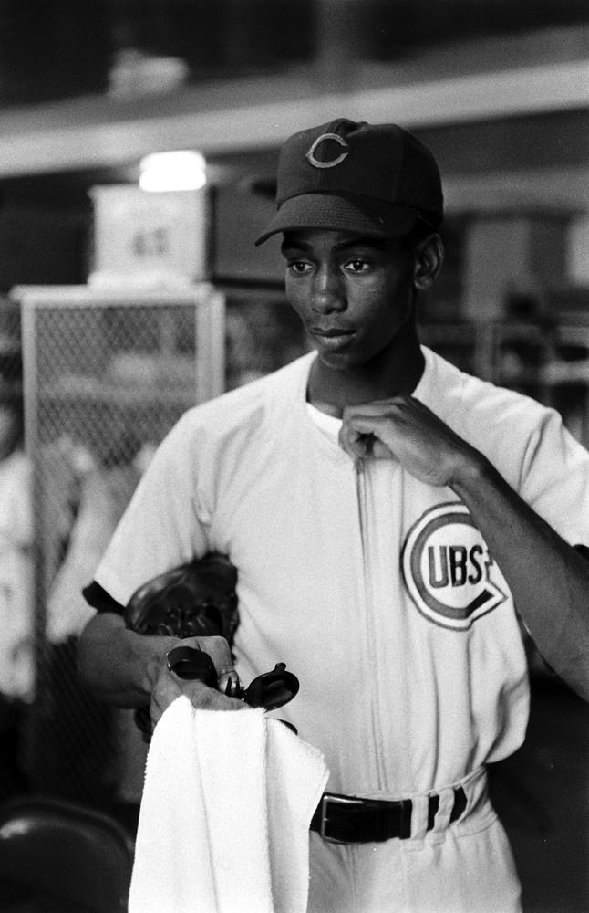 Ernie Banks, 1955.
