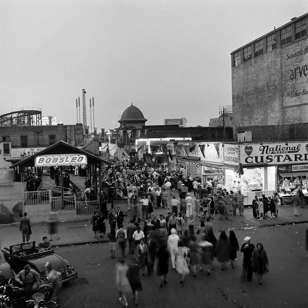 Coney Island, 1943.
