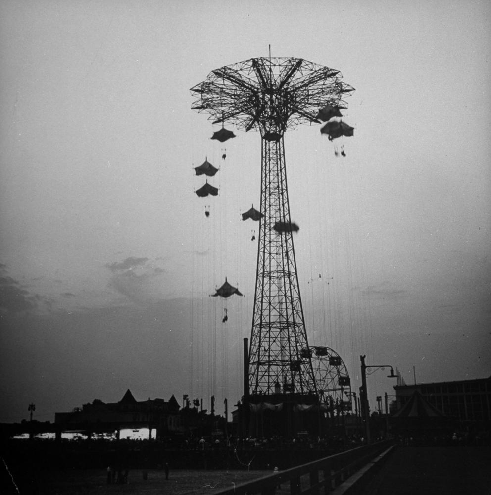 Coney Island, 1942.
