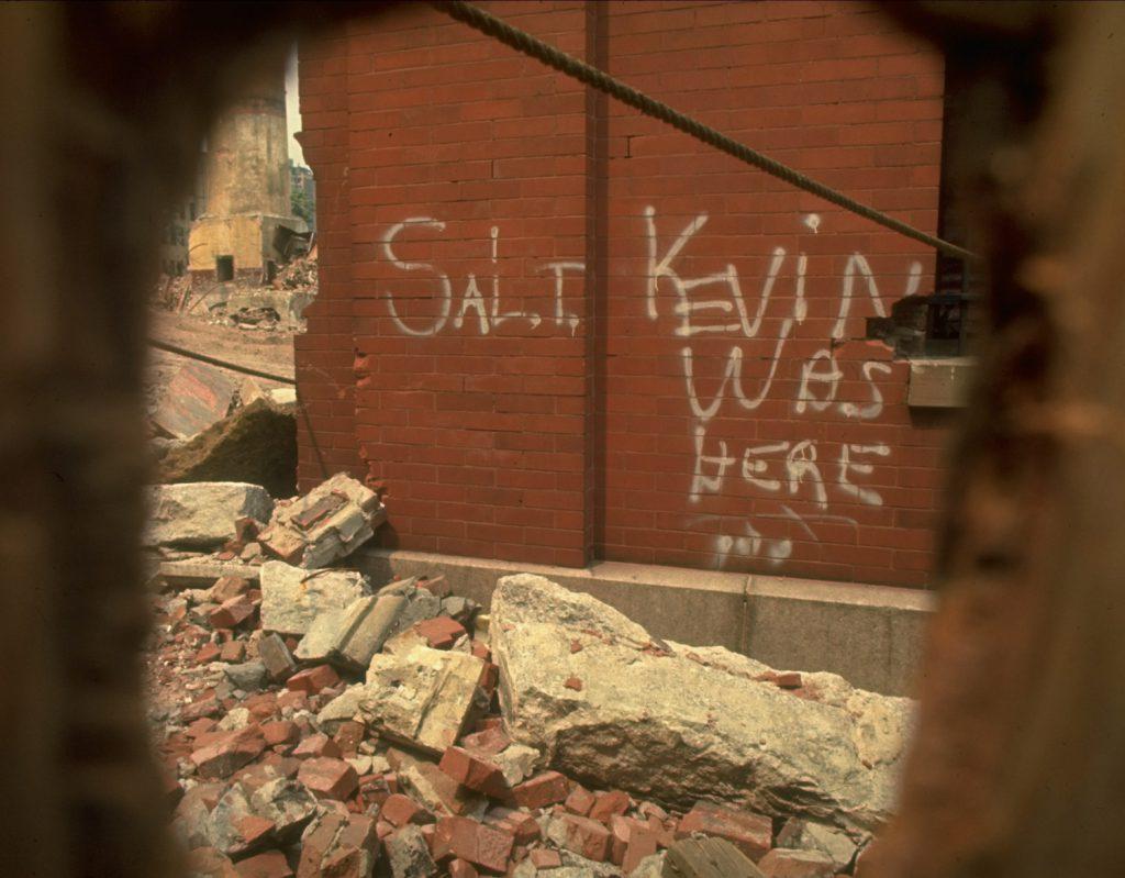 New York City graffiti, 1969.