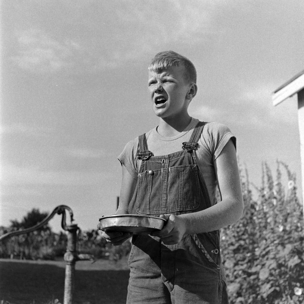 Larry Jim Holm, Iowa, 1945.