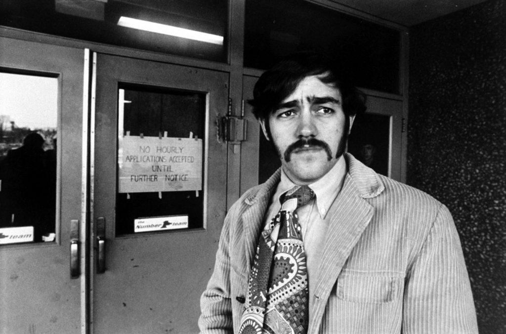 Vietnam veteran Mike Ball, 1970