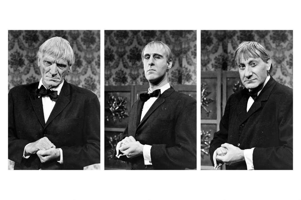 Actors who tried out for the part of Lurch, 1964.