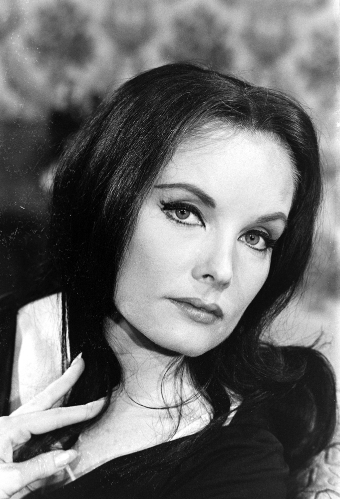 Actress who tried out for the role of Morticia Addams, 1964.
