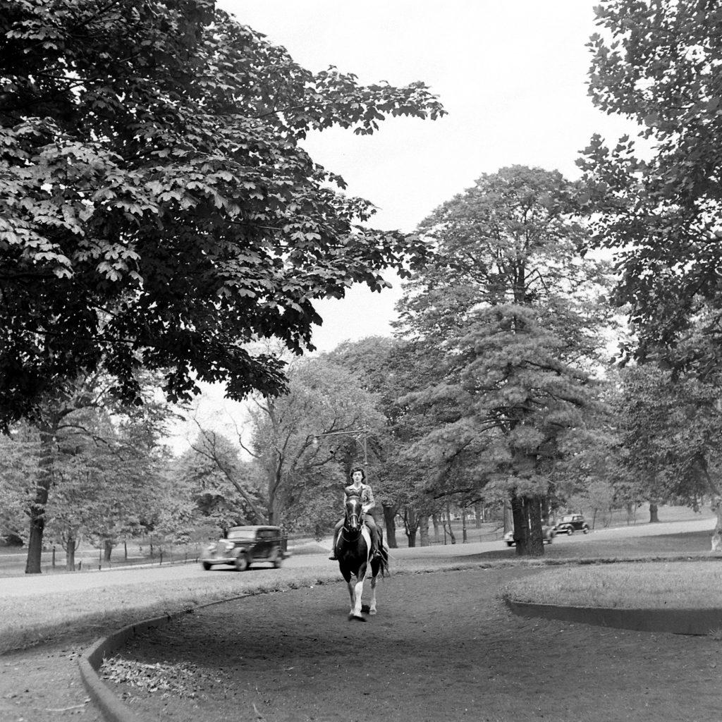 Prospect Park, Brooklyn, 1946.