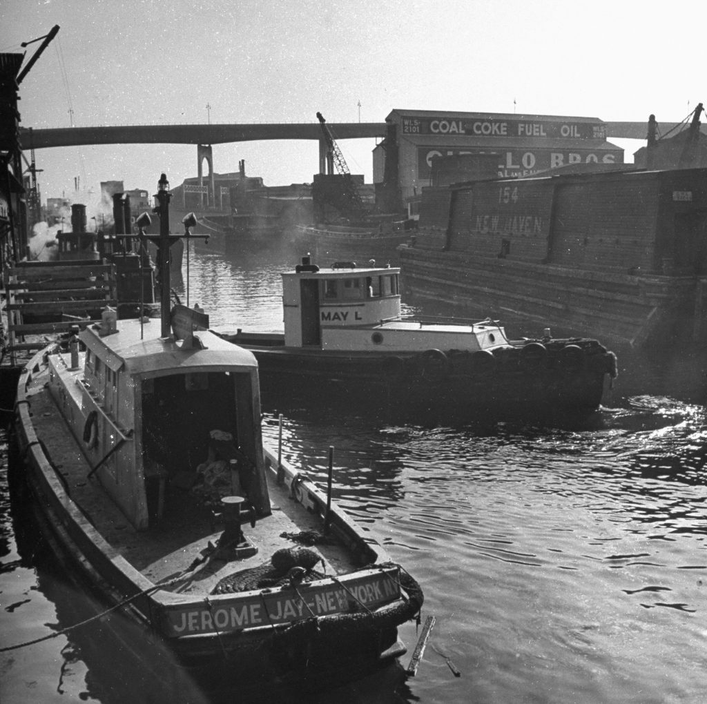 Gowanus Canal, Brooklyn, 1946.