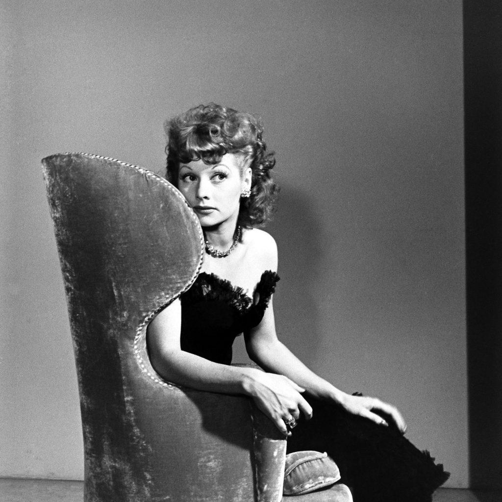 Lucille Ball, 1942.