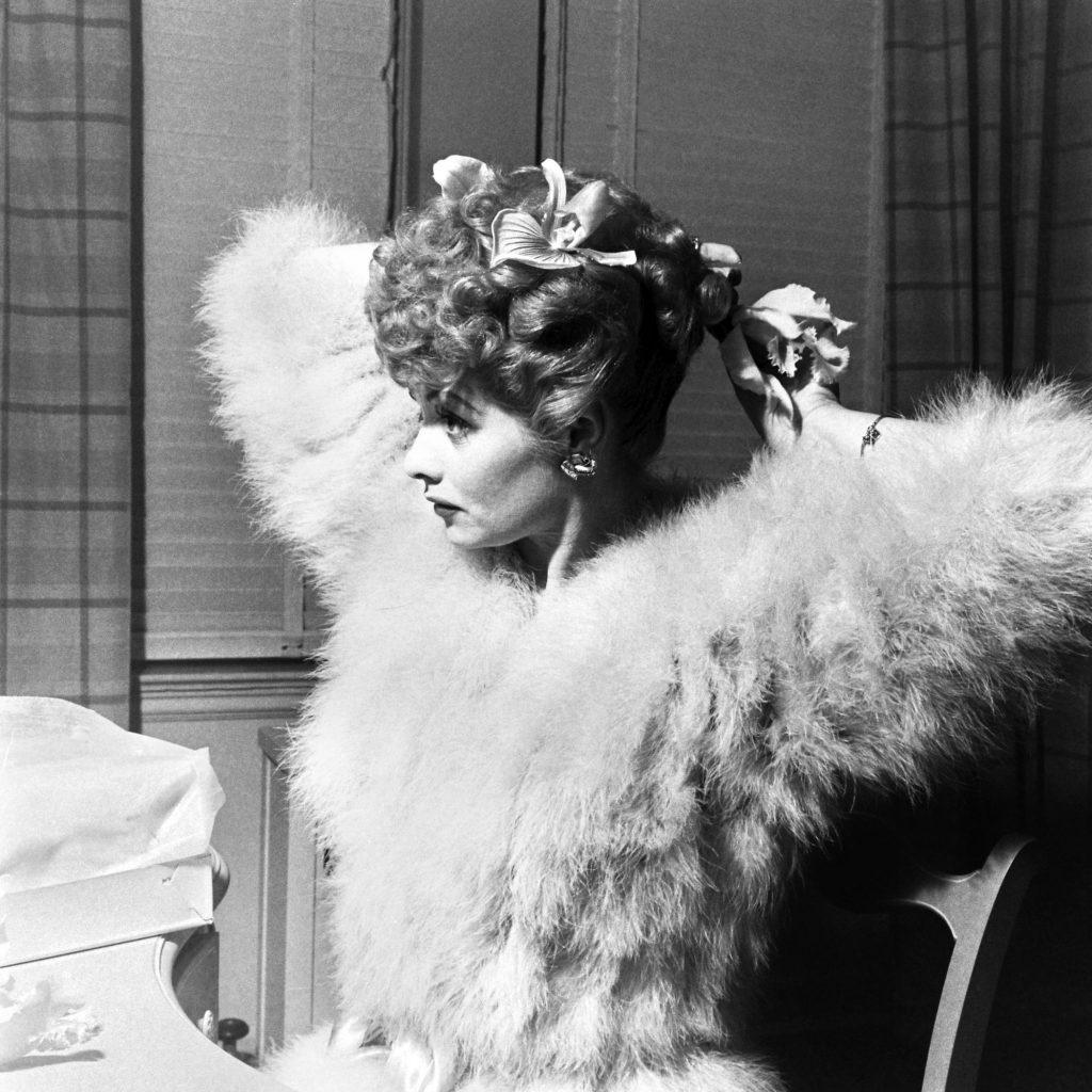 Lucille Ball, 1944.