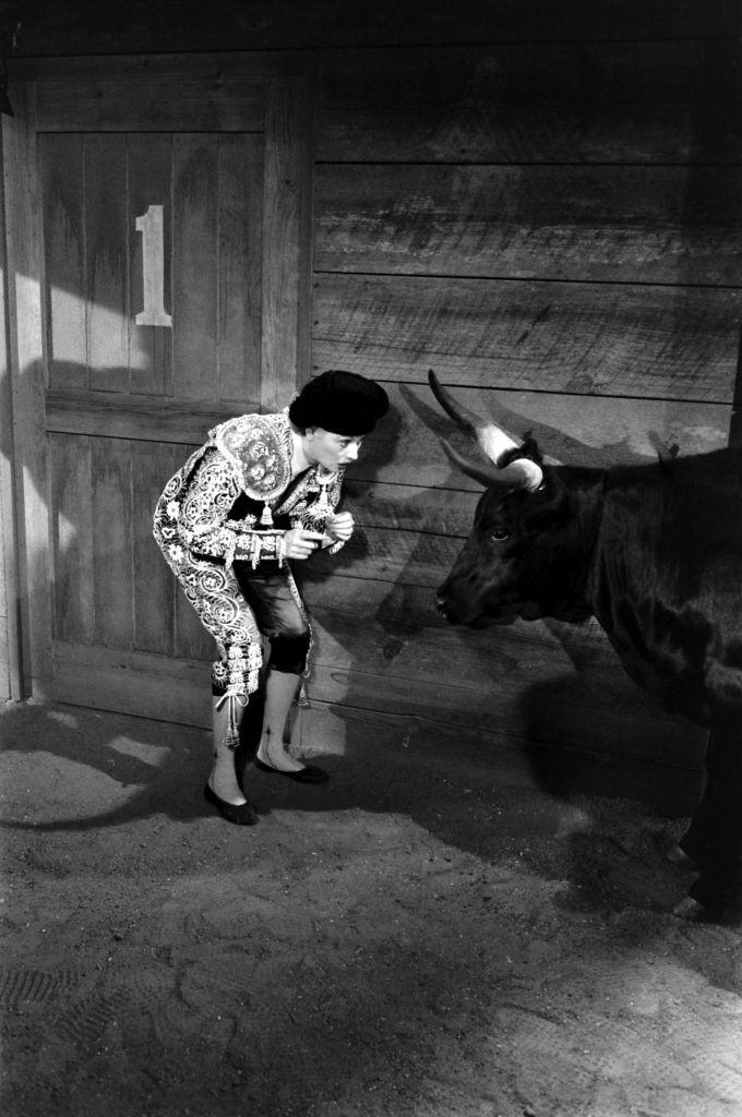 Lucille Ball plays a matador, 1958