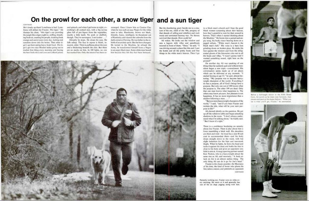 """LIFE magazine, March 5, 1971. Best viewed in """"full screen"""" mode; see button at right."""