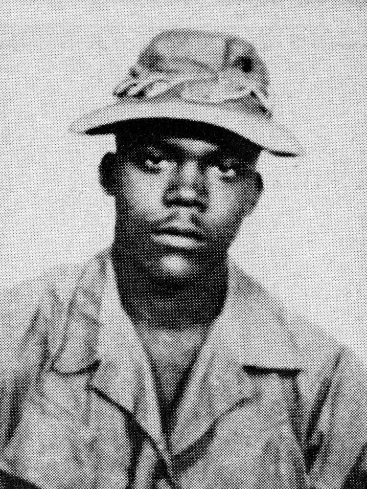 Milton S. Johnson, 20, Army, Pfc., Savannah, Ga.