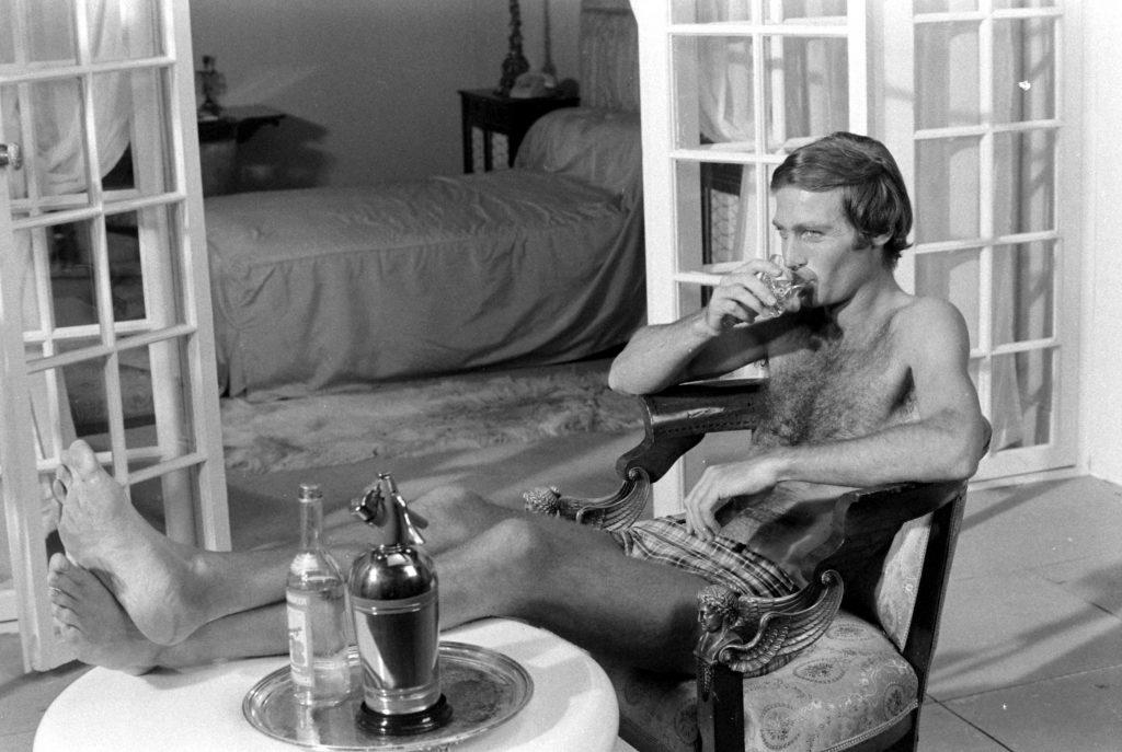 John Richardson during James Bond auditions, 1967.