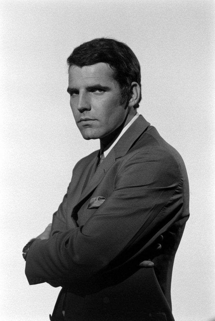 Hans de Vries during James Bond audition, 1967.
