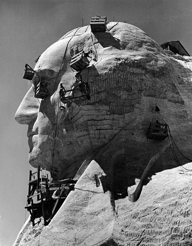 Mount Rushmore, 1940.