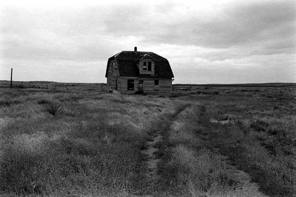 Abandoned house, Oklahoma, 1942.