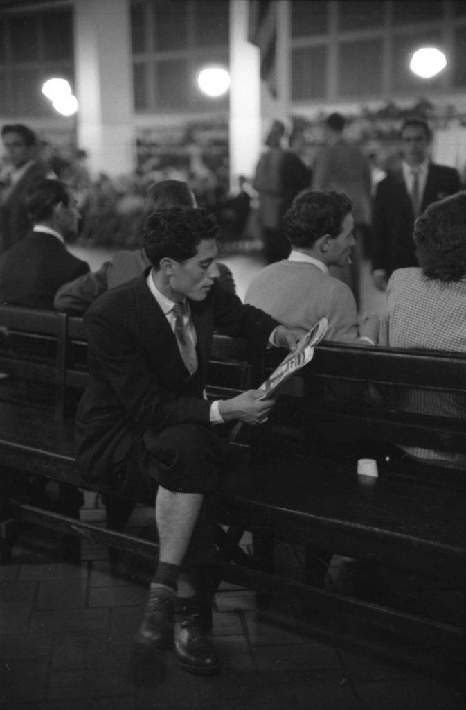 Ellis Island, 1950.