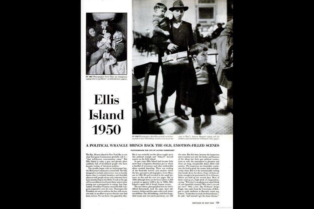 LIFE magazine, Nov. 13, 1950.