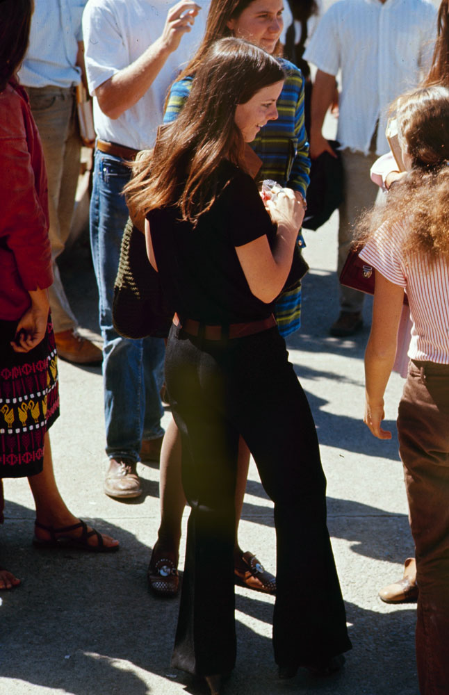 High school fashions, 1969.