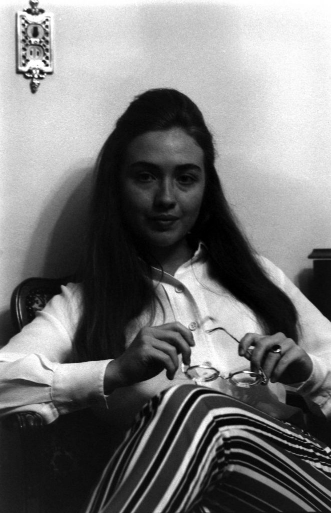 Hillary Rodham (later Hillary Rodham Clinton), Park Ridge, Illinois, June 1969.