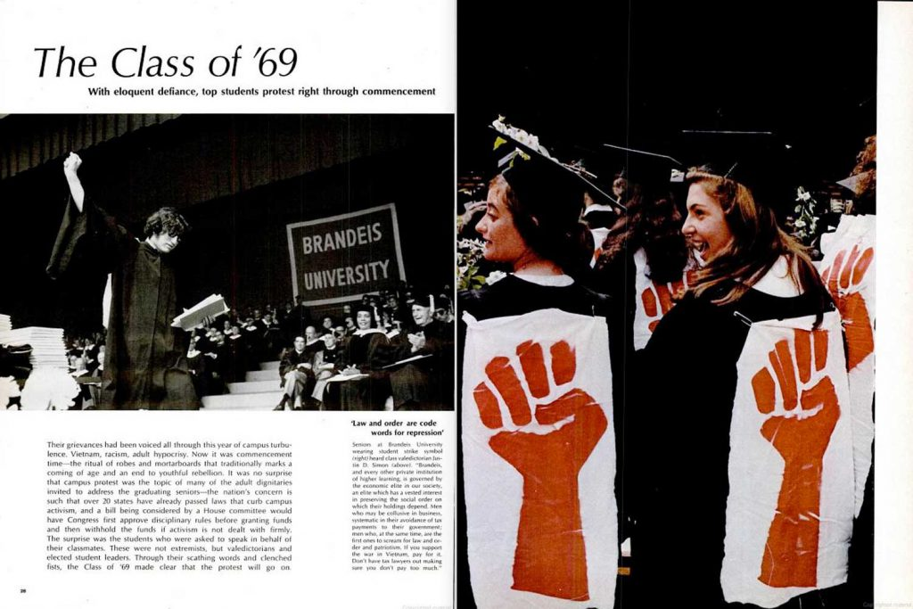 "LIFE magazine, June 20, 1969, ""Class of '69"" page spreads. (Best viewed using ""Full Screen"" option, at right.)"