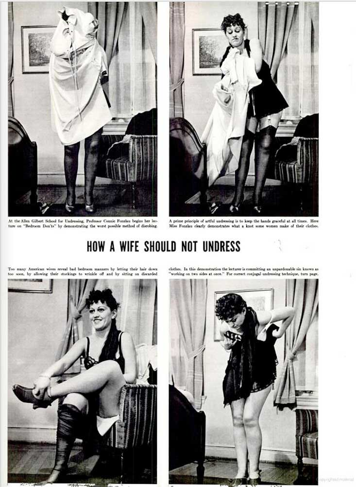 How A Wife Should Undress