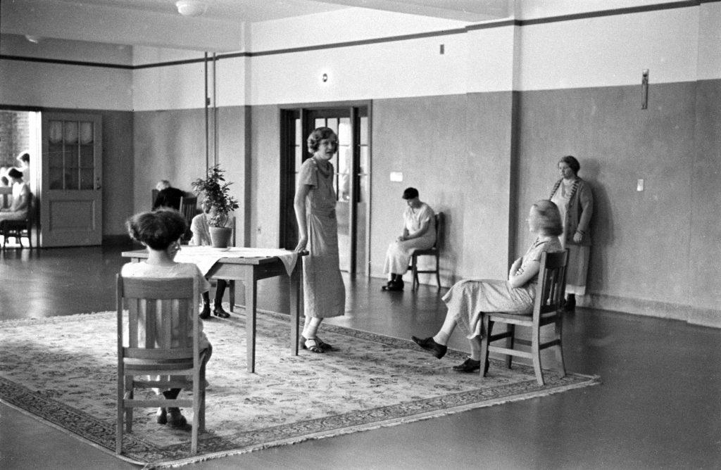 Pilgrim State Hospital, Brentwood, NY, 1938.