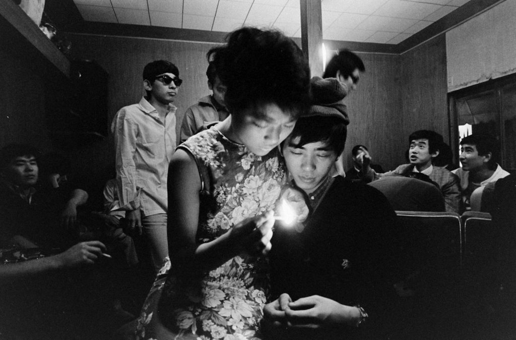 Japanese youth, Tokyo, 1964.