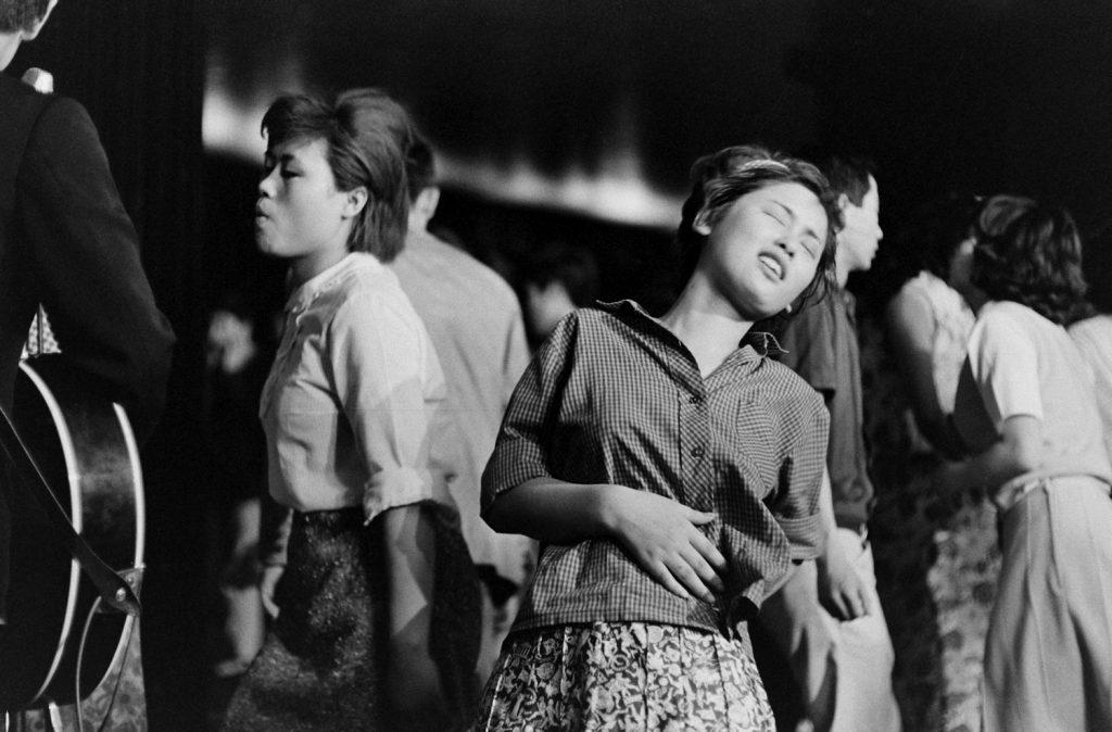 "Dancing to the ""Tokyo Beatles,"" 1964."