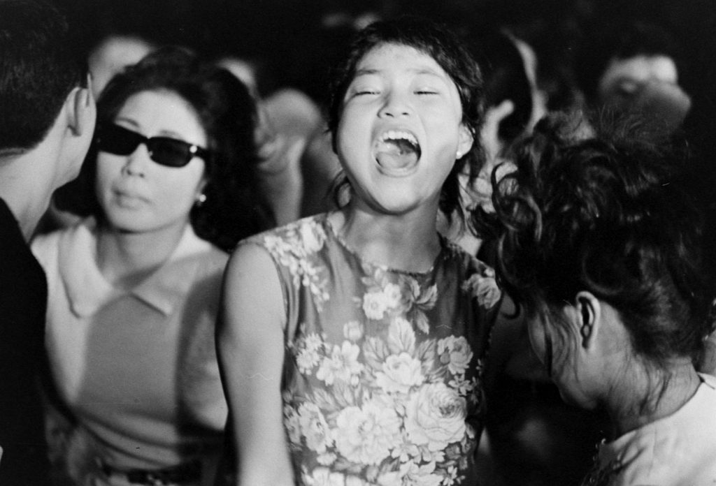 "Screaming for the ""Tokyo Beatles,"" 1964."