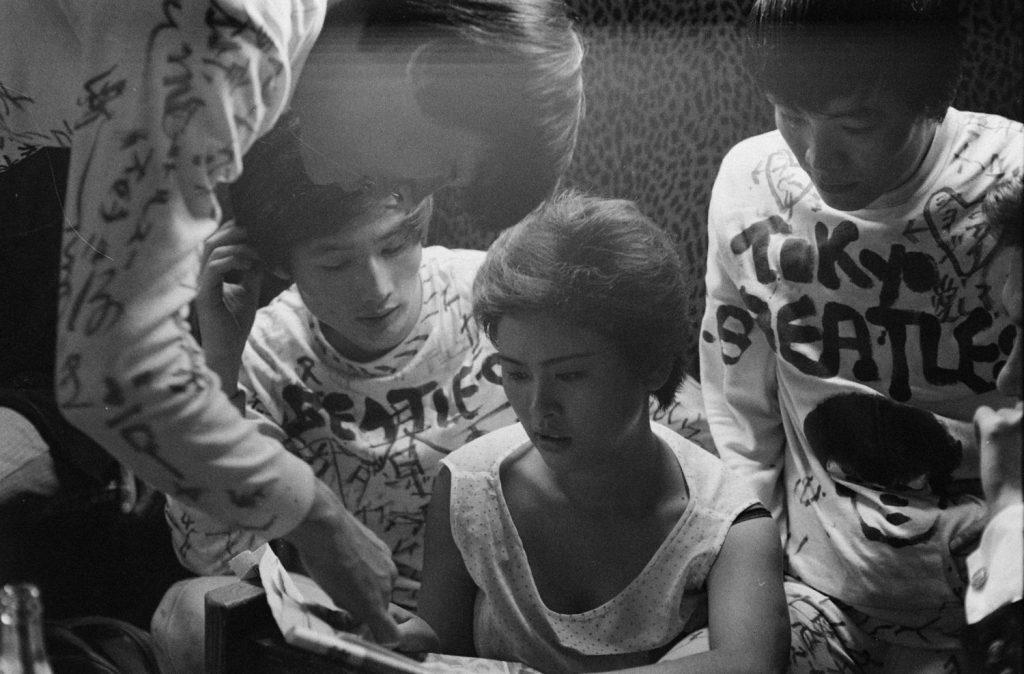 """Tokyo Beatles"" backstage, 1964."