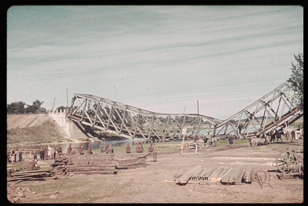 Near Sochaczew during the German invasion of Poland, 1939.