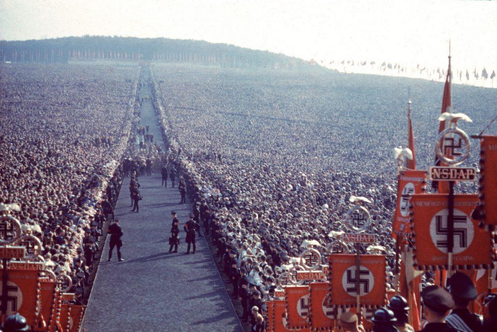Nazi rally, 1937.