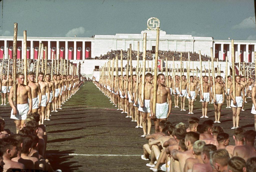 Reich Party Congress, Nuremburg, Germany, 1938.