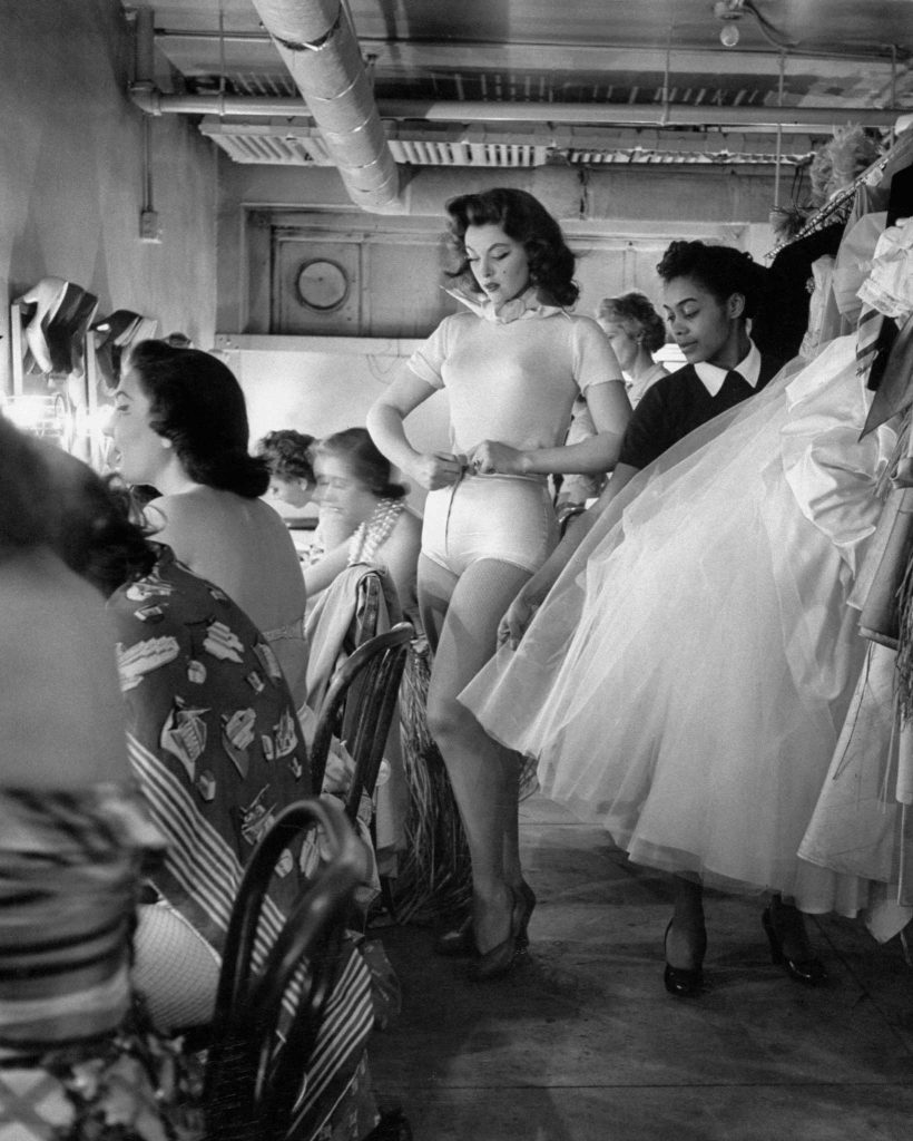 Tina Myers (later known as Tina Louise, of Gilligan's Island fame) comes out at a New York cotillion in 1953.