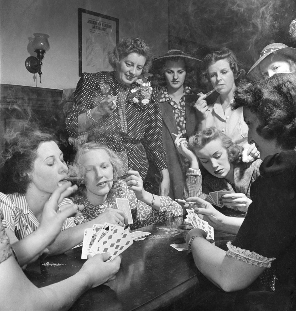 Republican women in Connecticut enjoy a good old-fashioned bacchanal in 1941.