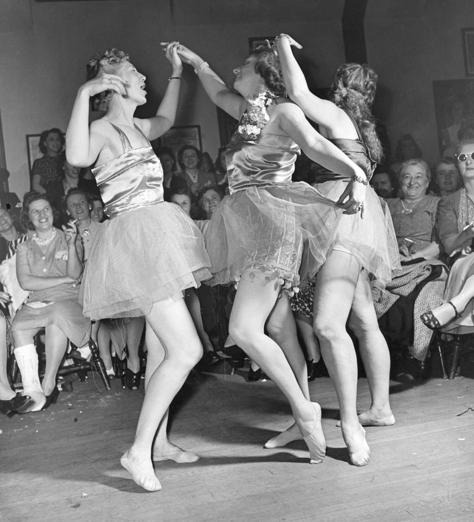 "LIFE described the ""Hefty Ballet"" as ""a choreographic burlesque devised by a local instructor."" No explanation was given as to why the women imagined that men at a smoker customarily enjoy a bit of ballet with their booze, cigars and strippers."