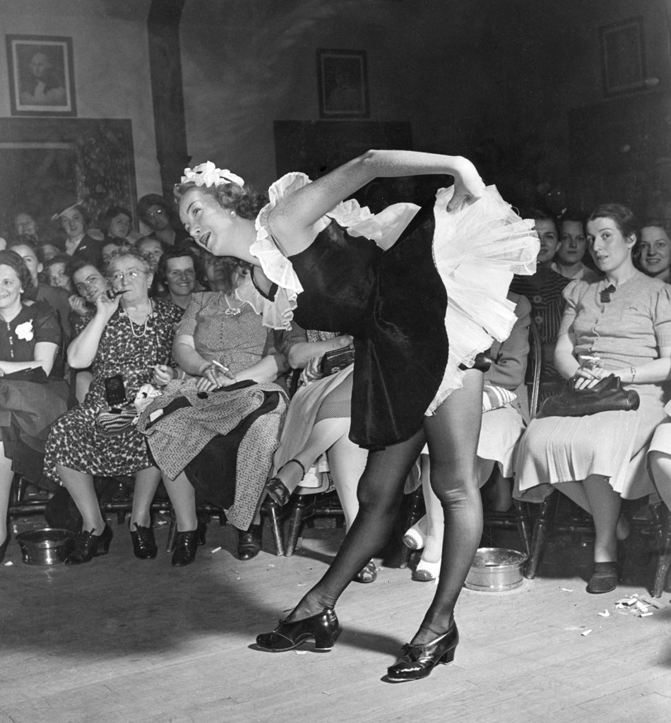 "LIFE deemed the tap dance executed by Miss Connie Mohr the ""best act technically in show."""