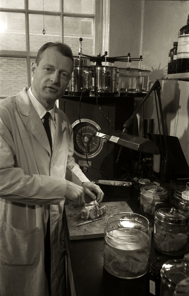 Dr. Thomas Harvey (1912 - 2007) was the pathologist who conducted the autopsy on Einstein at Princeton Hospital in 1955.