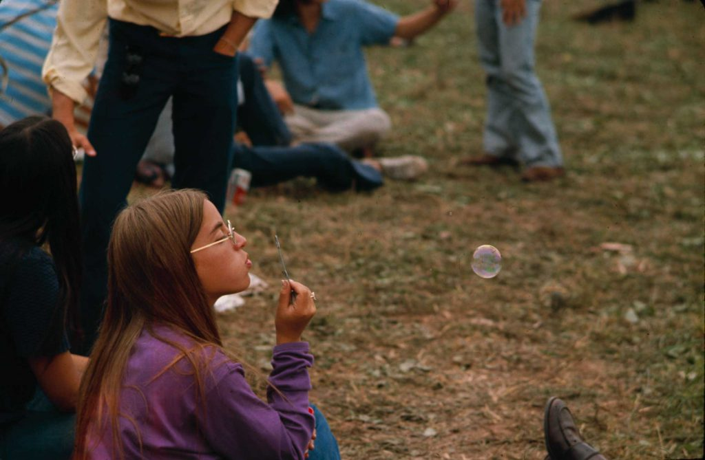 Woodstock Music & Art Fair, August 1969.