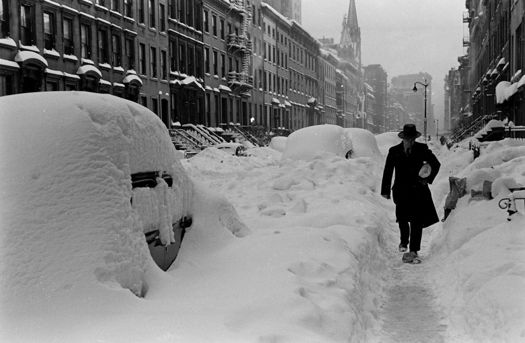 Blizzard, New York City, December 1947.