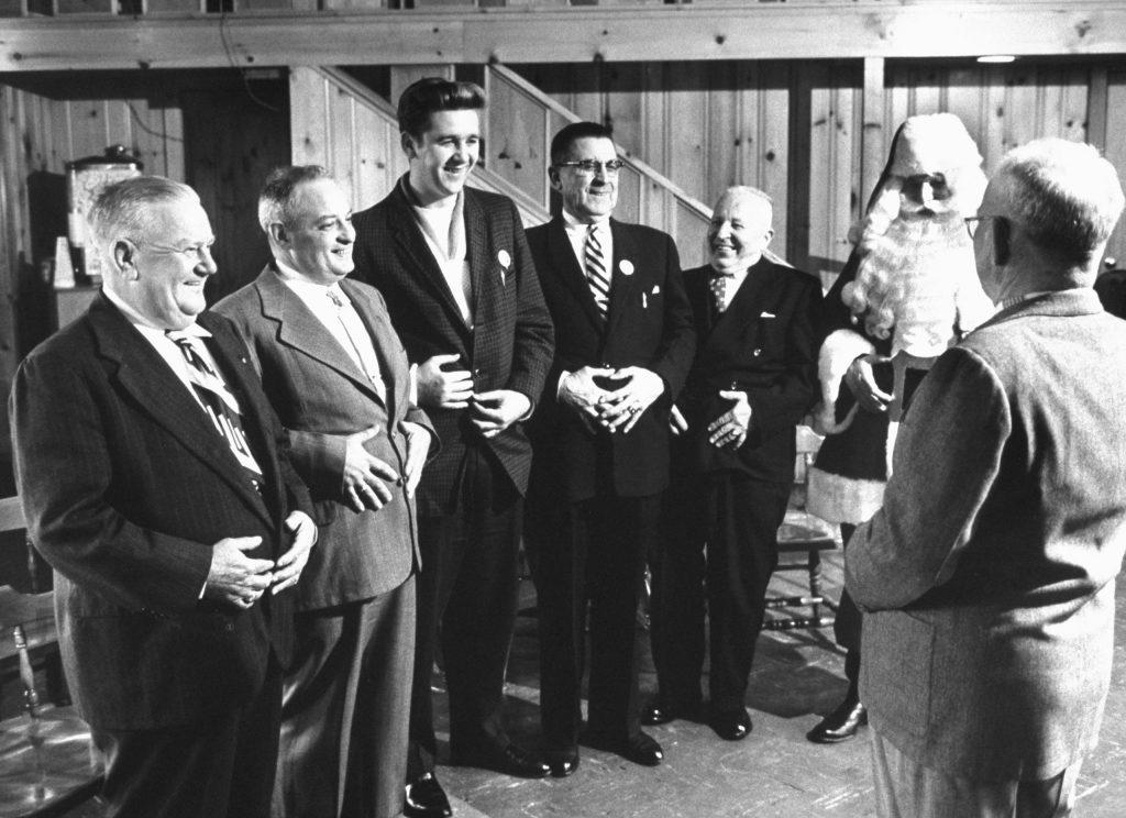 Santa Claus school, 1961.
